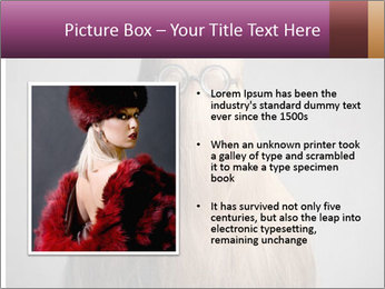 Glasses In Woman's Hair PowerPoint Template - Slide 13