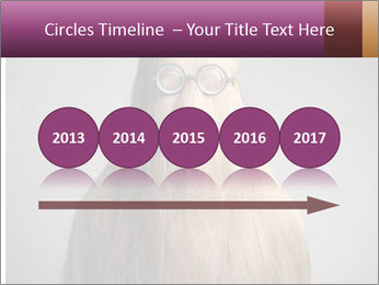 Glasses In Woman's Hair PowerPoint Templates - Slide 29