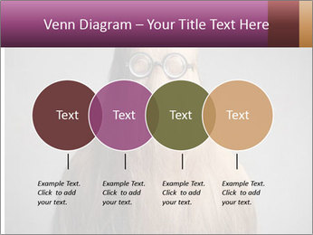 Glasses In Woman's Hair PowerPoint Template - Slide 32