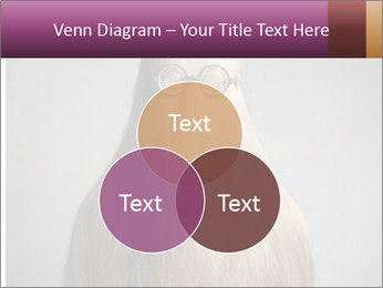 Glasses In Woman's Hair PowerPoint Template - Slide 33