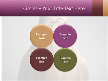 Glasses In Woman's Hair PowerPoint Template - Slide 38