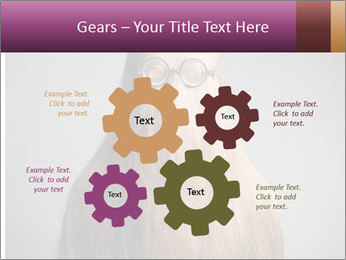 Glasses In Woman's Hair PowerPoint Template - Slide 47