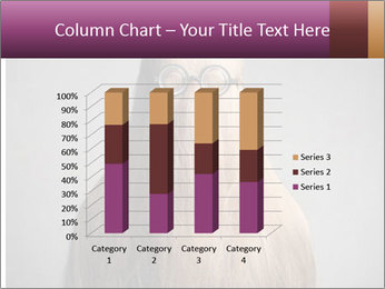 Glasses In Woman's Hair PowerPoint Template - Slide 50