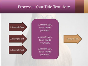 Glasses In Woman's Hair PowerPoint Template - Slide 85