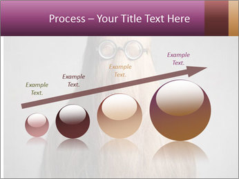 Glasses In Woman's Hair PowerPoint Template - Slide 87