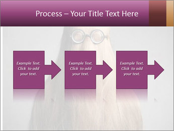 Glasses In Woman's Hair PowerPoint Template - Slide 88