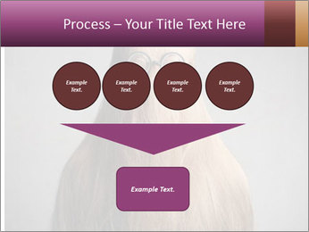 Glasses In Woman's Hair PowerPoint Template - Slide 93