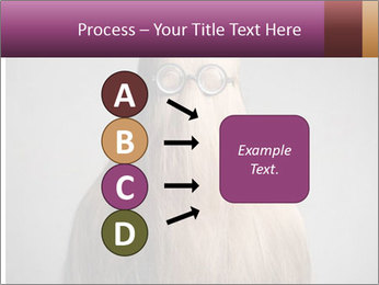 Glasses In Woman's Hair PowerPoint Template - Slide 94