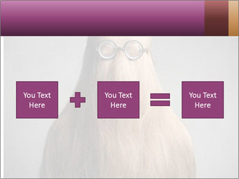 Glasses In Woman's Hair PowerPoint Template - Slide 95