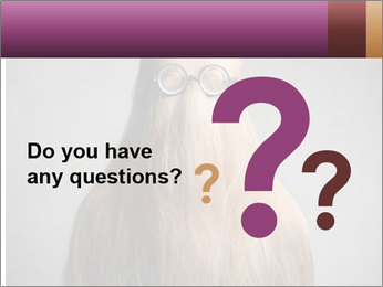 Glasses In Woman's Hair PowerPoint Template - Slide 96