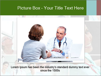 Clinic Photo Collage PowerPoint Templates - Slide 15
