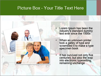 Clinic Photo Collage PowerPoint Templates - Slide 20