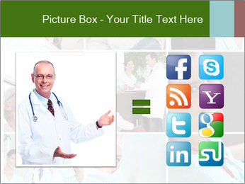 Clinic Photo Collage PowerPoint Templates - Slide 21