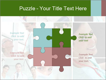 Clinic Photo Collage PowerPoint Templates - Slide 43