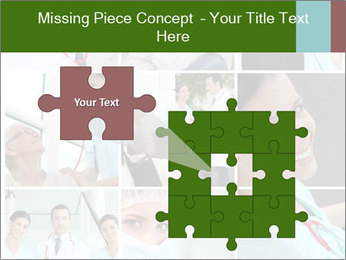 Clinic Photo Collage PowerPoint Templates - Slide 45