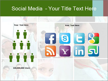Clinic Photo Collage PowerPoint Templates - Slide 5