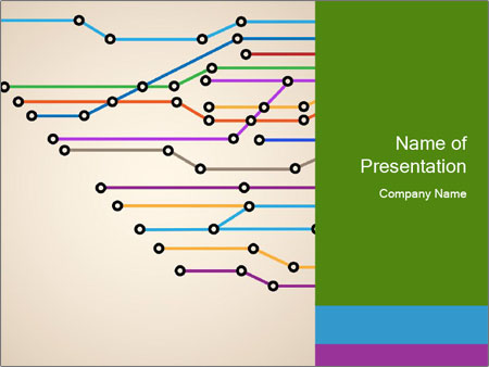 Subway Scheme PowerPoint Template