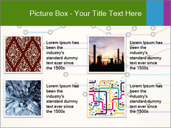 Subway Scheme PowerPoint Template - Slide 14