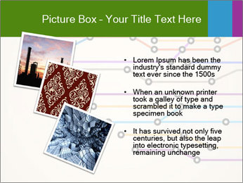 Subway Scheme PowerPoint Template - Slide 17