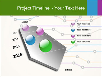 Subway Scheme PowerPoint Template - Slide 26