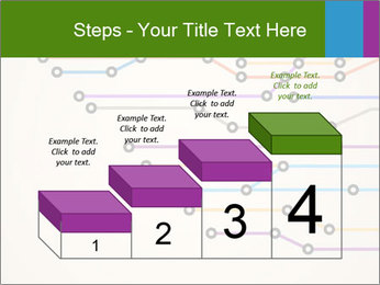 Subway Scheme PowerPoint Template - Slide 64