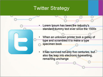 Subway Scheme PowerPoint Template - Slide 9