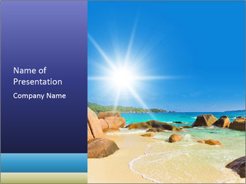 Australian Beach PowerPoint Template