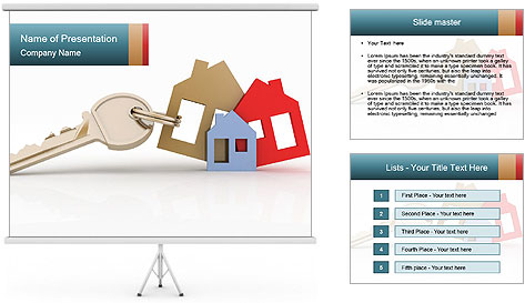 Key Set PowerPoint Template