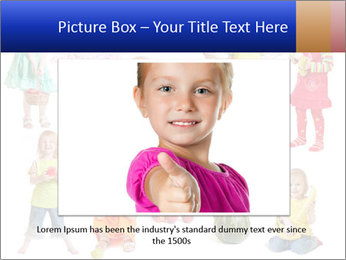 Girl with fruit PowerPoint Template - Slide 15