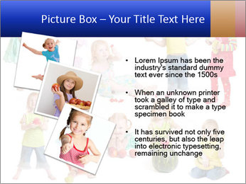 Girl with fruit PowerPoint Template - Slide 17