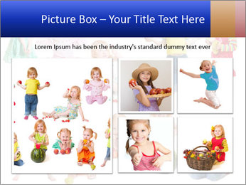 Girl with fruit PowerPoint Template - Slide 19