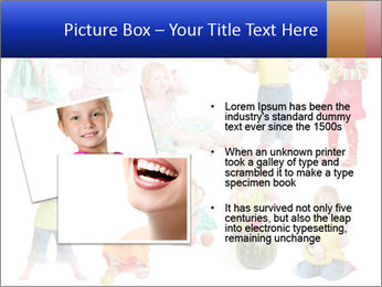 Girl with fruit PowerPoint Template - Slide 20