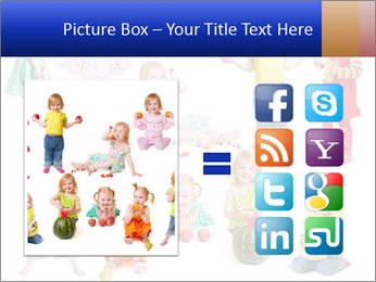 Girl with fruit PowerPoint Template - Slide 21