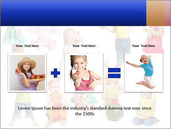 Girl with fruit PowerPoint Template - Slide 22