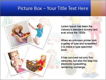 Girl with fruit PowerPoint Template - Slide 23
