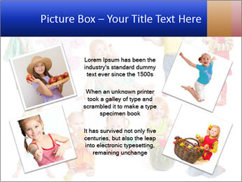 Girl with fruit PowerPoint Template - Slide 24