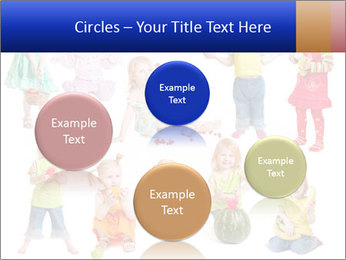 Girl with fruit PowerPoint Template - Slide 77