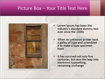 Rotten Wall PowerPoint Template - Slide 13