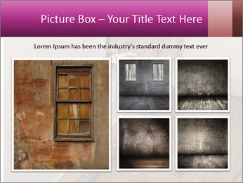 Rotten Wall PowerPoint Template - Slide 19