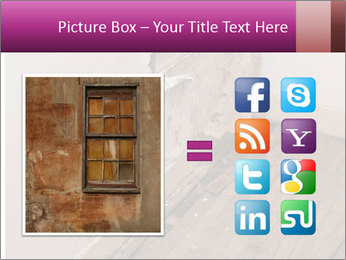 Rotten Wall PowerPoint Template - Slide 21