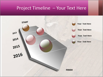Rotten Wall PowerPoint Template - Slide 26