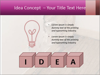 Rotten Wall PowerPoint Template - Slide 80