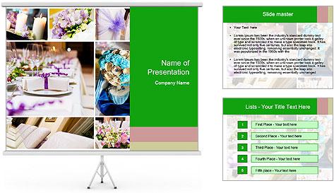 Wedding Decor Ideas PowerPoint Template