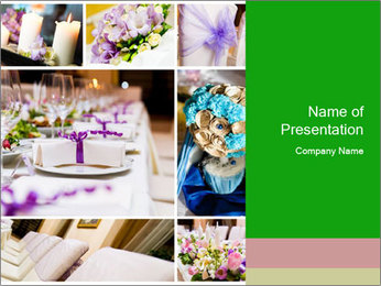Wedding Decor Ideas PowerPoint Template
