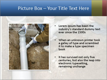 Rotten Pipe PowerPoint Template - Slide 13