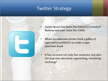 Rotten Pipe PowerPoint Template - Slide 9