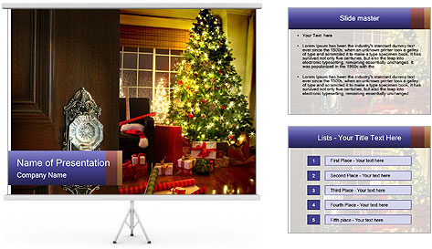 Advent Time PowerPoint Template