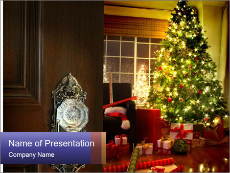 Advent Time PowerPoint Templates