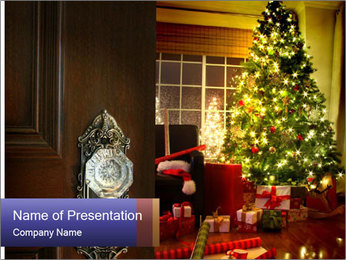Advent Time PowerPoint Templates - Slide 1