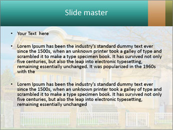 Grand House PowerPoint Template - Slide 2